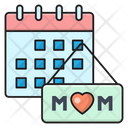 Motherday Date Event Icon