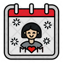 Mothers Day Calendar Icon