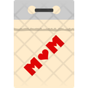Mothers Day Mother Day Calendar Icon