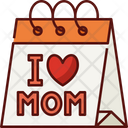 Mothers Day Calendar Day Icon