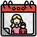 Mothers Day Mother Maternity Mothers Day Kid And Baby Icon