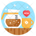 Coffee Mothers Day Coffee Beverage Icon