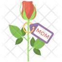 Mothers Day Flower Icon