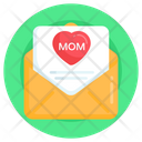 Mothers Day Mail Invitation Letter Mothers Day Letter Icon