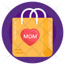 Shopping Bag Mothers Day Shopping Mothers Day Bag Icon