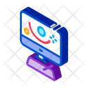 Motion Projection Action Icon