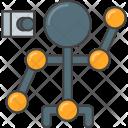 Motion capture Icon