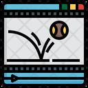 Motion Graphics Movement Physics Icon