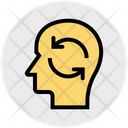 Motivation Concept Sync Head Icon