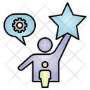Motivation Career Development Icon