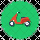 Moto Motorbike Scooter Icon