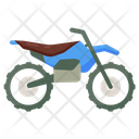 Motocross Motorbike Motorcycle Icon