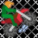 Motocross Bike Motorcycle Icon