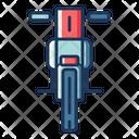 Motocross Motorcycle Bike Icon