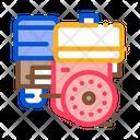Engine Motor Kart Icon