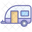 Motor Home Mobile Home Camper Icon