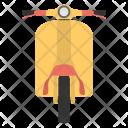 Motor Scooter Vespa Icon