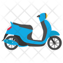 Scooter Fast Scooter Fastest Moped Icon