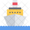 Motor Ship River Transport River Tram Icon