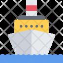 Motor Ship Delivery Icon