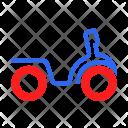 Motorbicycle Motorbike Transport Icon