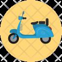 Motorbike Motorcycle Retro Icon
