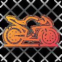 Motorbike Racing Bike Racing Vehicle Icon