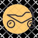 Motorbike Motorcycle Sports Icon