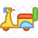Motorbike Motorcycle Vehicle Icon