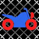 Motorbike Transport Traffic Icon