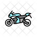 Motorbike Transport Color Icon