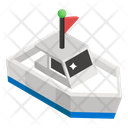 Motorboat Delivery Ship Cruise Ship Icon