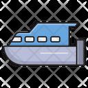 Motorboat Ship Transport Icon
