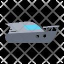 Motorboat Yacht Boat Icon