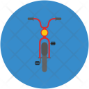 Motorcycle Scooter Transportation Icon