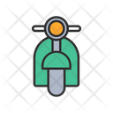 Motorcycle Bike Moped Icon