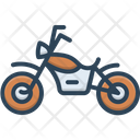 Motorcycle Motorbike Transportation Icon