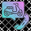 Motorcycle Motorbike Rent Icon