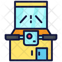 Motorcycle Arcade Game Icon