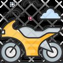 Motorcycle Bike Motorbike Icon