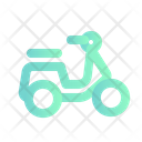 Motorcycle Bike Transport Icon