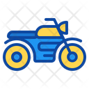 Motorcycle Motorbike Transport Vehicle Speed Delivery Icon