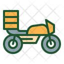 Motorcycle Delivery Delivery Bike Food Delivery Icon