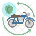 Motorcycle Insurance Icon