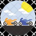 Motorcycle Race Racing Icon