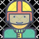 Motorcyclist Icon