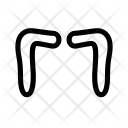 Motorhead Mustache Icon
