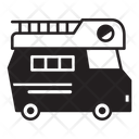Recreational Vehicle Motorhome Transport Icon