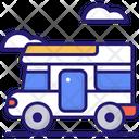Motorhome Camping Car Camper Icon
