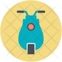 Motorscooter Scooter Scooty Icon